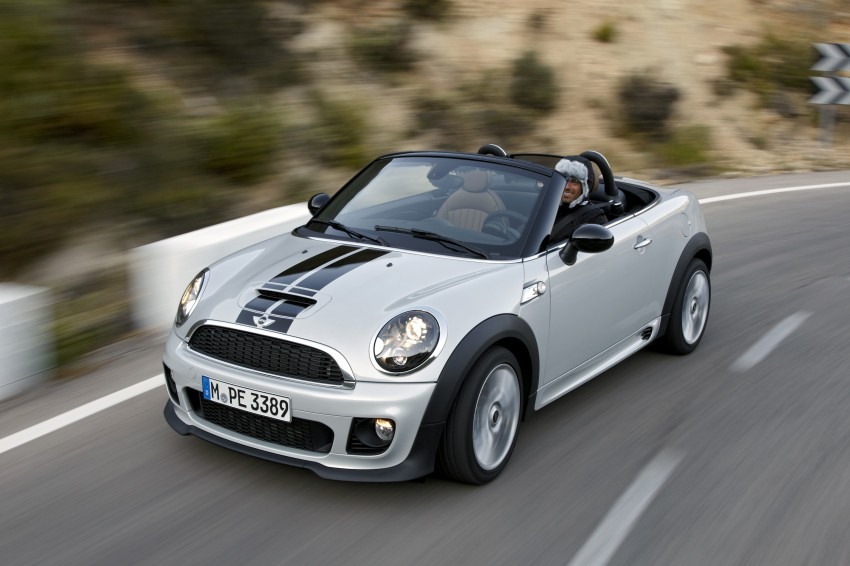 MINI Roadster – production drop top MINI Coupe unveiled! Image #75038