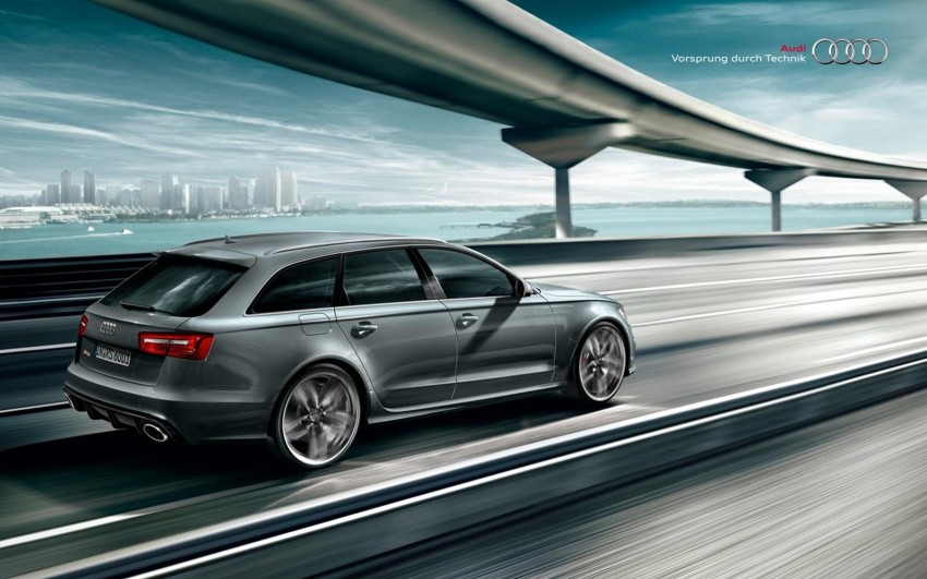 Audi RS 6 Avant – 560 PS, 0-100 km/h in 3.9 seconds Image #144859