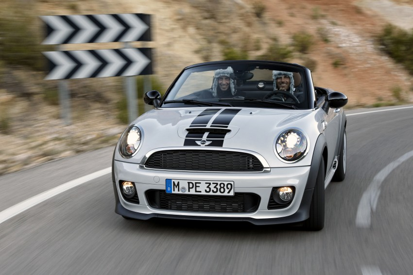 MINI Roadster – production drop top MINI Coupe unveiled! Image #75040