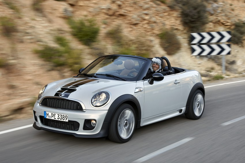MINI Roadster – production drop top MINI Coupe unveiled! Image #75041