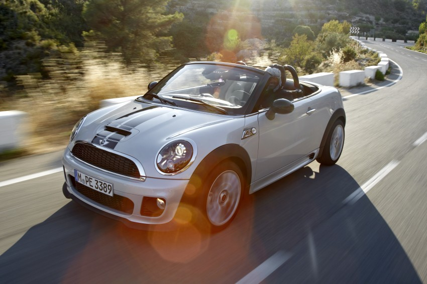 MINI Roadster – production drop top MINI Coupe unveiled! Image #75042