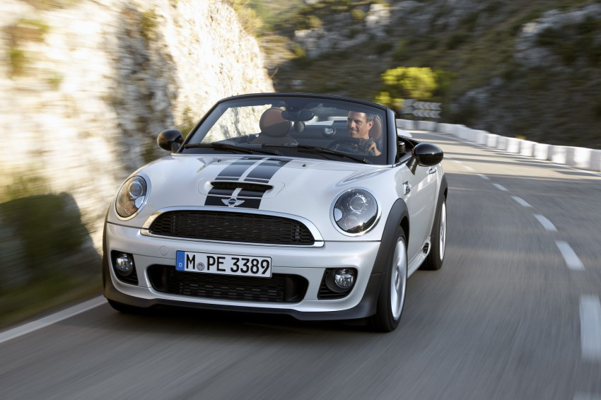 MINI Roadster – production drop top MINI Coupe unveiled! Image #75043