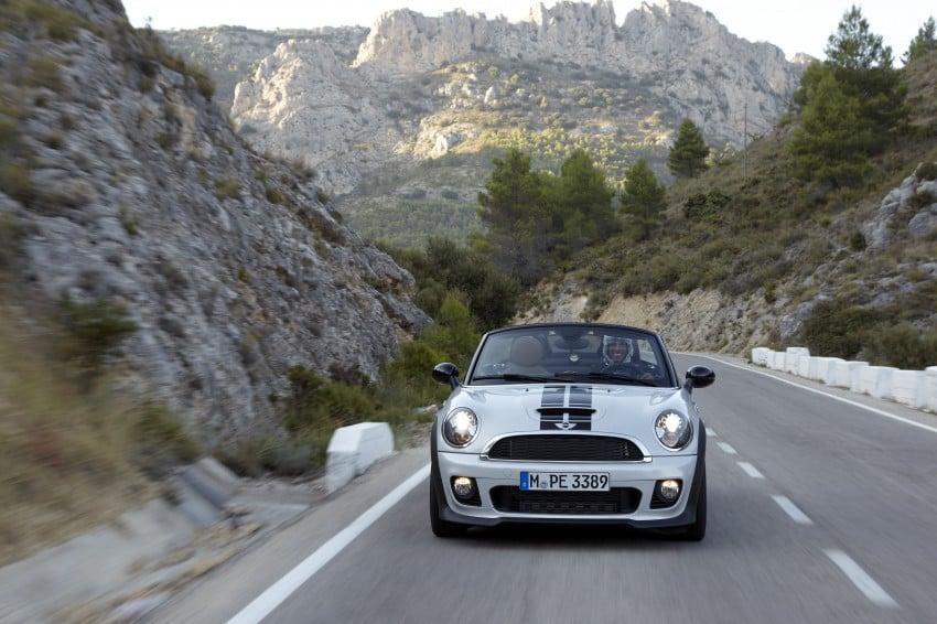 MINI Roadster – production drop top MINI Coupe unveiled! Image #75044