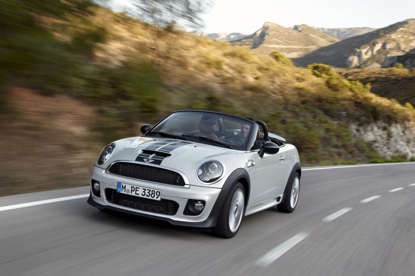 MINI Roadster – production drop top MINI Coupe unveiled! Image #75045