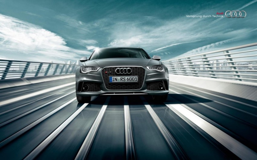 Audi RS 6 Avant – 560 PS, 0-100 km/h in 3.9 seconds Image #144870
