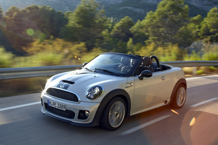 MINI Roadster – production drop top MINI Coupe unveiled! Image #75047