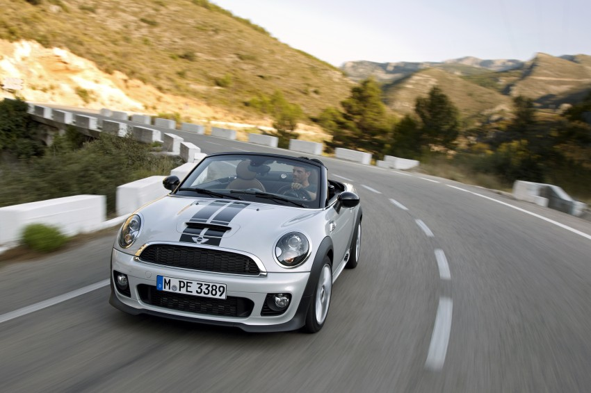 MINI Roadster – production drop top MINI Coupe unveiled! Image #75049