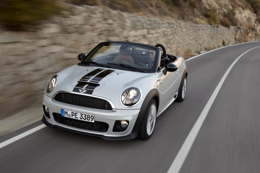 MINI Roadster – production drop top MINI Coupe unveiled! Image #75050