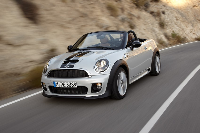 MINI Roadster – production drop top MINI Coupe unveiled! Image #75052