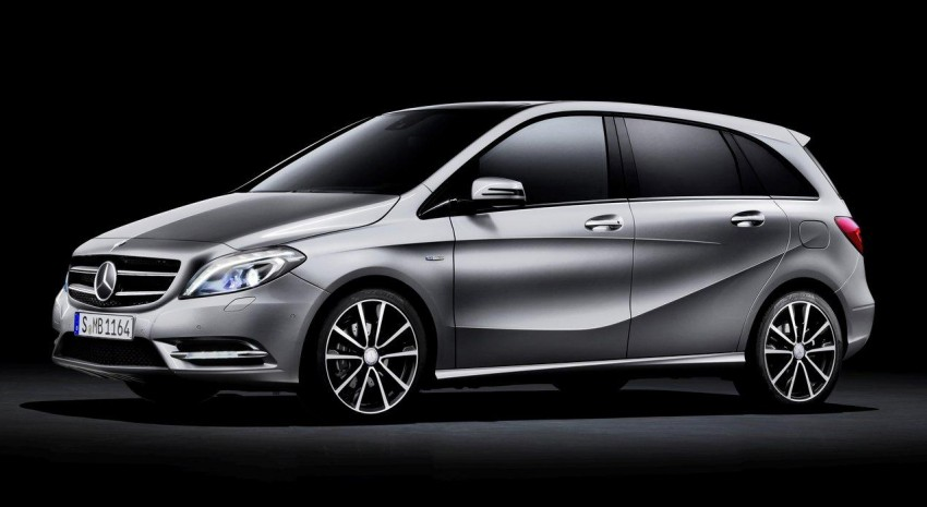 All-new Mercedes-Benz B-Class officially revealed! Image #66127