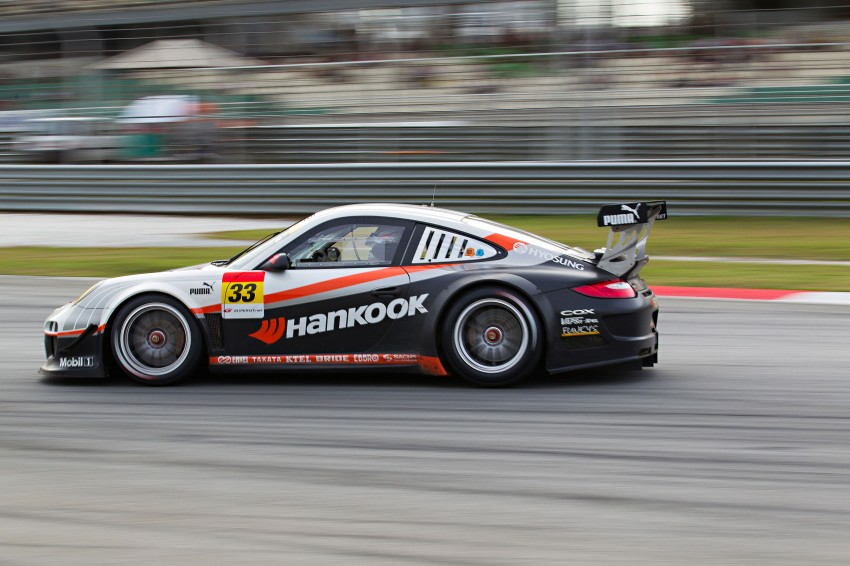 Autobacs Super GT 2012 Round 3: Weider HSV-010 and Hankook Porsche win from pole position Image #111982
