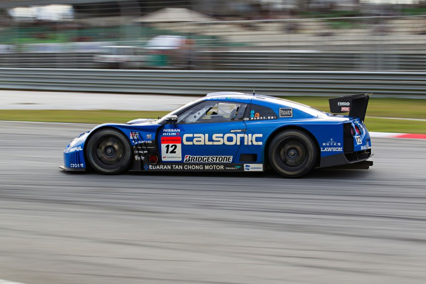 Autobacs Super GT 2012 Round 3: Weider HSV-010 and Hankook Porsche win from pole position Image #111984