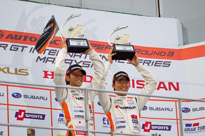 Autobacs Super GT 2012 Round 3: Weider HSV-010 and Hankook Porsche win from pole position Image #111994