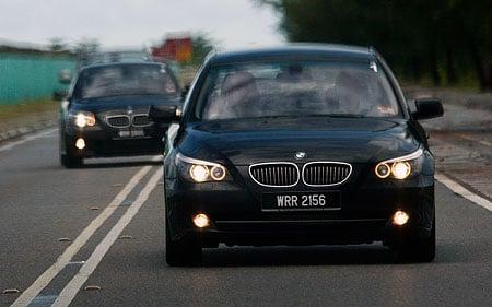 The E60 BMW 5-Series Facelift Range Test Drive: BMW 523i SE, 525i Sports and 530i Image #32029