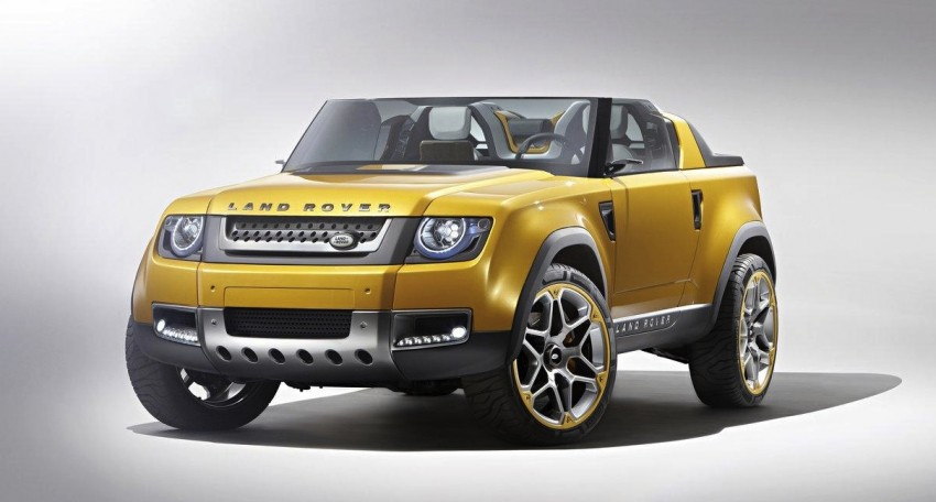 Frankfurt: Land Rover reveals the DC100 and DC100 Sport Defender concepts Image #68576