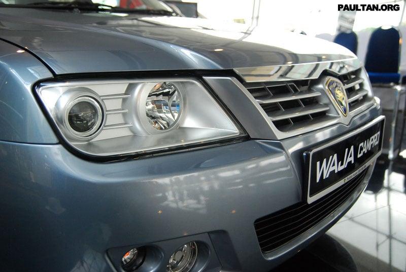 2007 Proton Waja Facelift Launched Image #156464