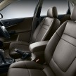 Leather seats Front