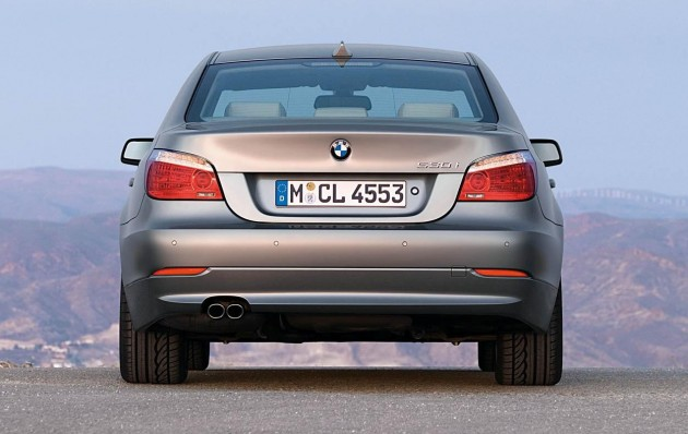 BMW launches E60 BMW 5Series facelift