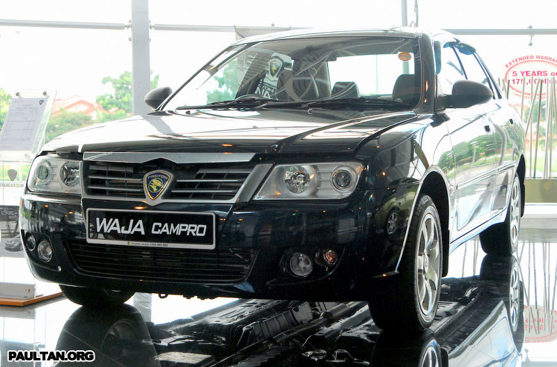 2007 Proton Waja Facelift Launched Image #156453