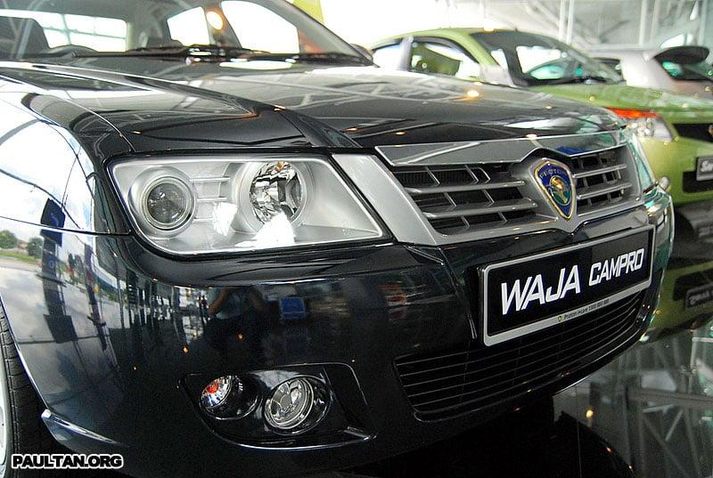 2007 Proton Waja Facelift Launched Image #156449