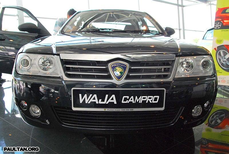 2007 Proton Waja Facelift Launched Image #156446
