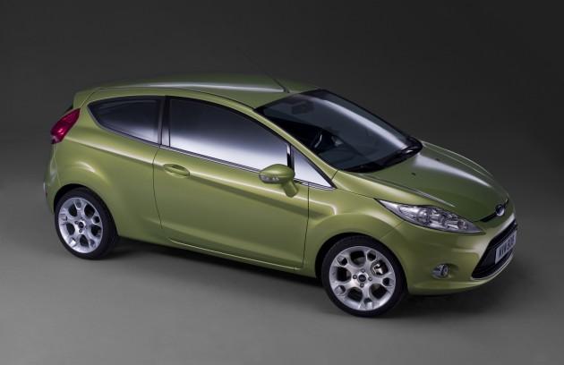 2008 Ford Fiesta 3door (Europe). (02/14/2008)