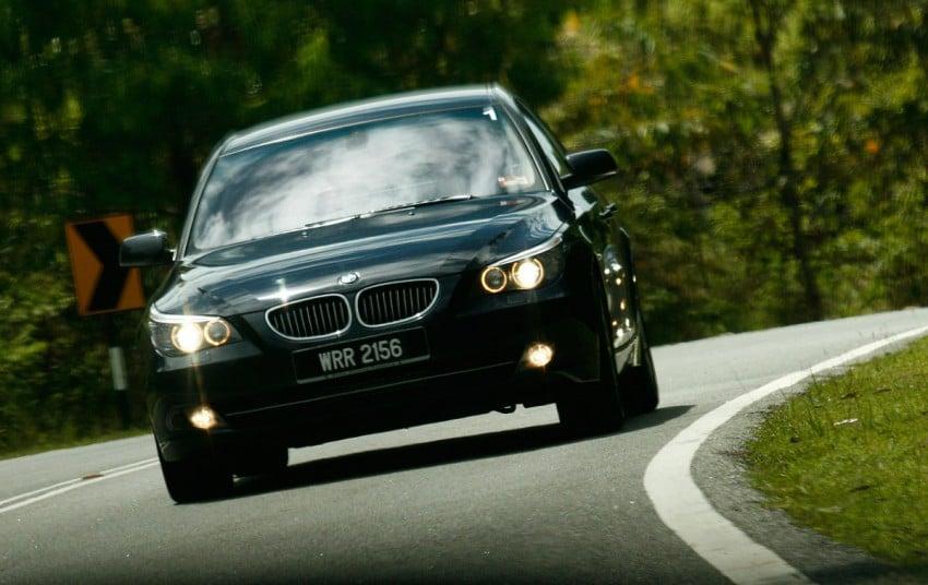 The E60 BMW 5-Series Facelift Range Test Drive: BMW 523i SE, 525i Sports and 530i Image #273222