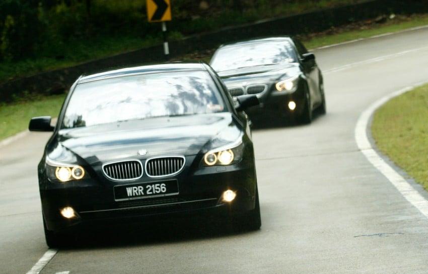 The E60 BMW 5-Series Facelift Range Test Drive: BMW 523i SE, 525i Sports and 530i Image #273219