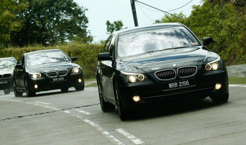 The E60 BMW 5-Series Facelift Range Test Drive: BMW 523i SE, 525i Sports and 530i Image #273217
