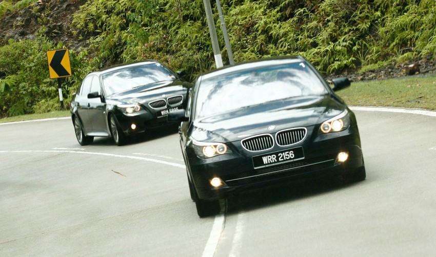 The E60 BMW 5-Series Facelift Range Test Drive: BMW 523i SE, 525i Sports and 530i Image #273218