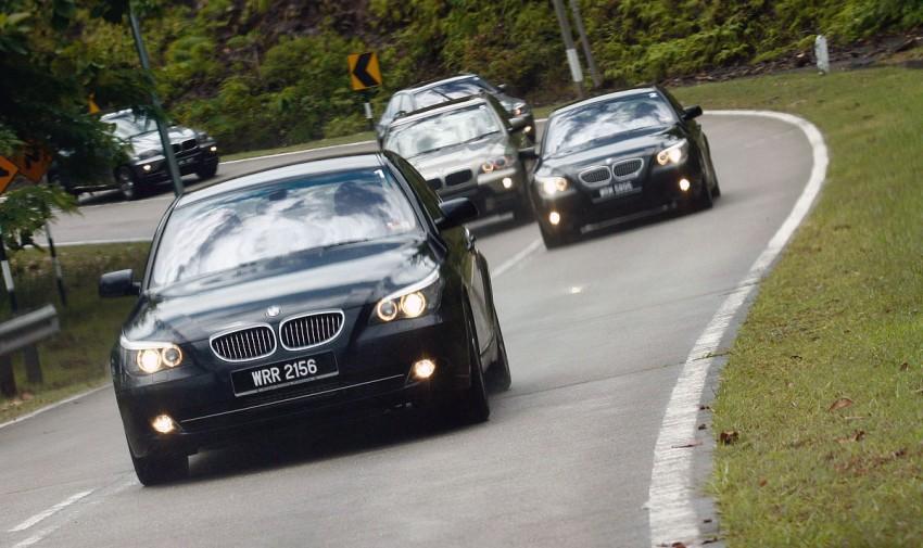 The E60 BMW 5-Series Facelift Range Test Drive: BMW 523i SE, 525i Sports and 530i Image #273215