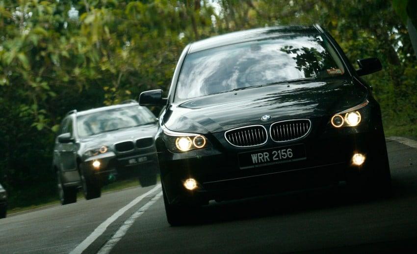 The E60 BMW 5-Series Facelift Range Test Drive: BMW 523i SE, 525i Sports and 530i Image #273213