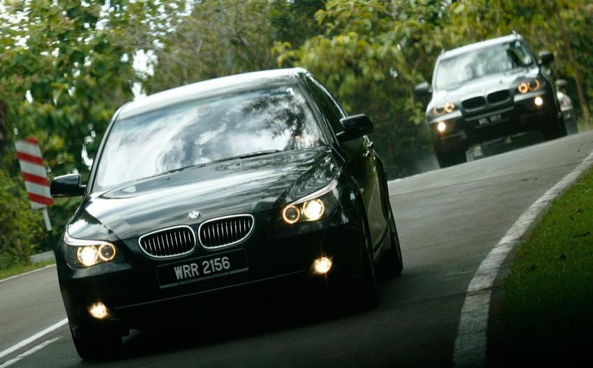 The E60 BMW 5-Series Facelift Range Test Drive: BMW 523i SE, 525i Sports and 530i Image #273214