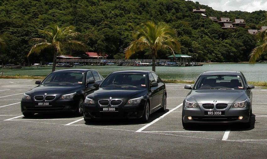 The E60 BMW 5-Series Facelift Range Test Drive: BMW 523i SE, 525i Sports and 530i Image #273210