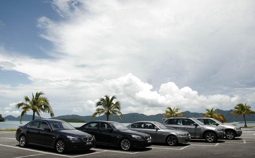 The E60 BMW 5-Series Facelift Range Test Drive: BMW 523i SE, 525i Sports and 530i Image #273207