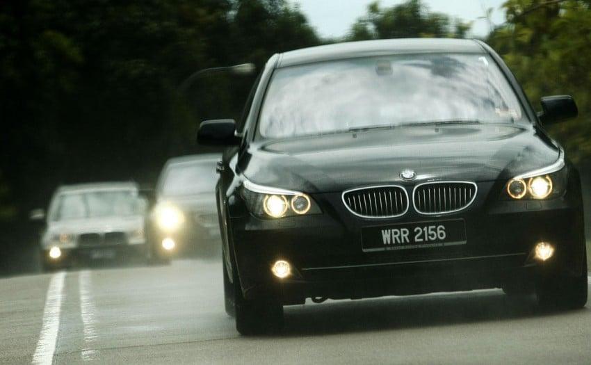 The E60 BMW 5-Series Facelift Range Test Drive: BMW 523i SE, 525i Sports and 530i Image #273204