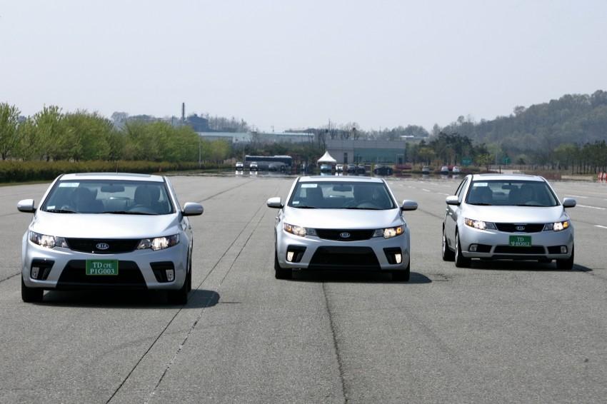 Kia Koup Preview Drive at Namyang R&D Centre! Image #273426