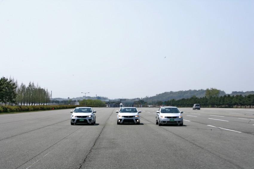 Kia Koup Preview Drive at Namyang R&D Centre! Image #273425