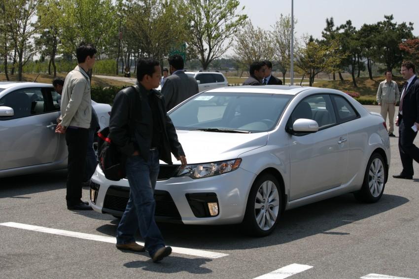 Kia Koup Preview Drive at Namyang R&D Centre! Image #273422