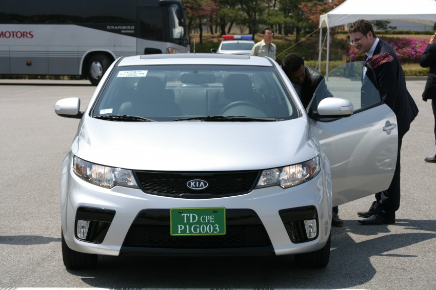 Kia Koup Preview Drive at Namyang R&D Centre! Image #273421