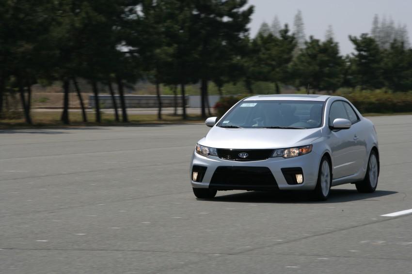 Kia Koup Preview Drive at Namyang R&D Centre! Image #273416