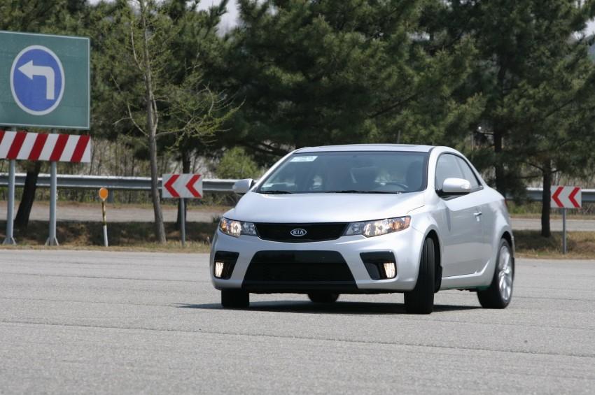 Kia Koup Preview Drive at Namyang R&D Centre! Image #273409