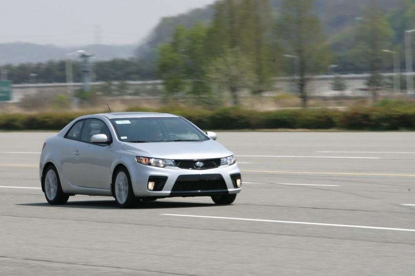 Kia Koup Preview Drive at Namyang R&D Centre! Image #273403