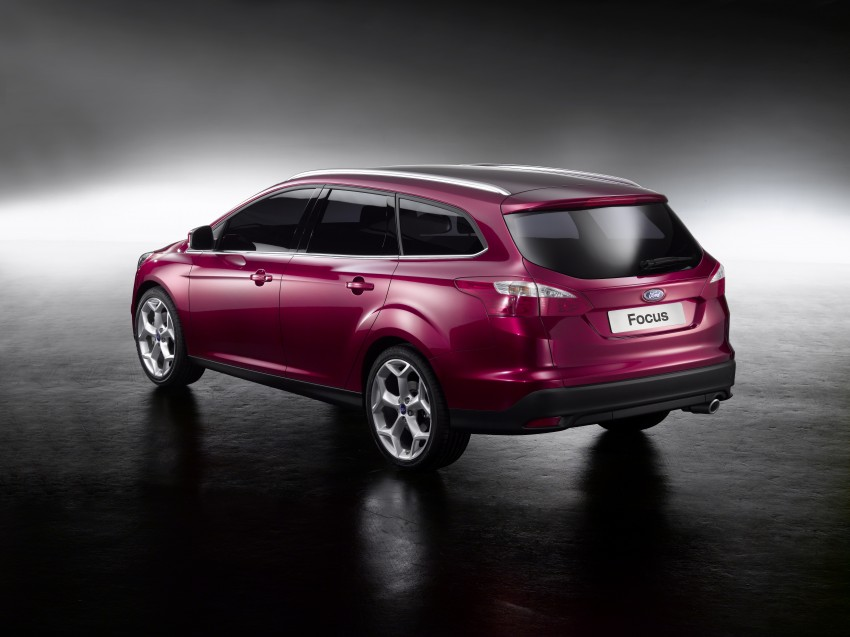 Ford Focus Wagon body joins hatch and sedan Image #414276