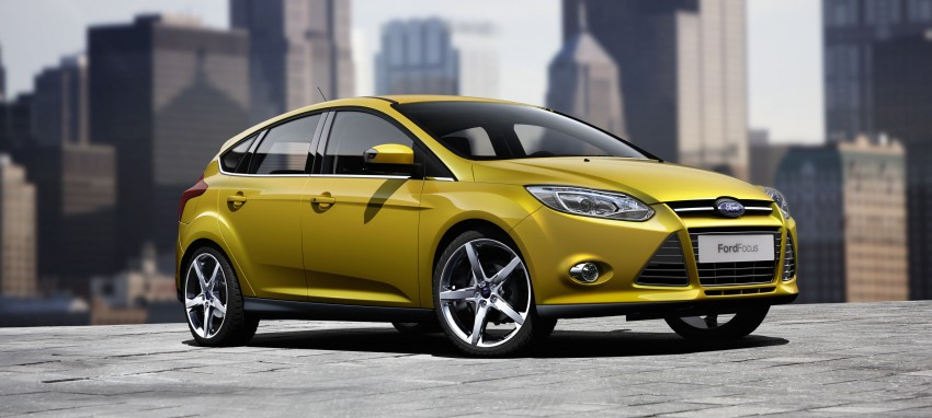 Ford Focus Wagon body joins hatch and sedan Image #414259