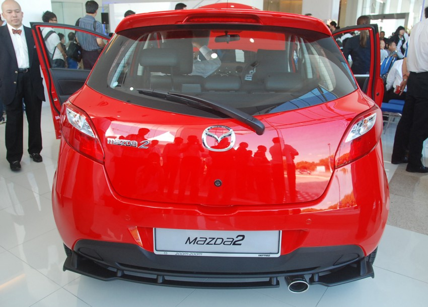 Mazda 2 launched: sedan and hatchback, RM80K to RM85K! Image #183224