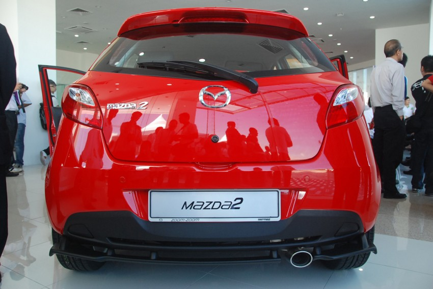 Mazda 2 launched: sedan and hatchback, RM80K to RM85K! Image #183225