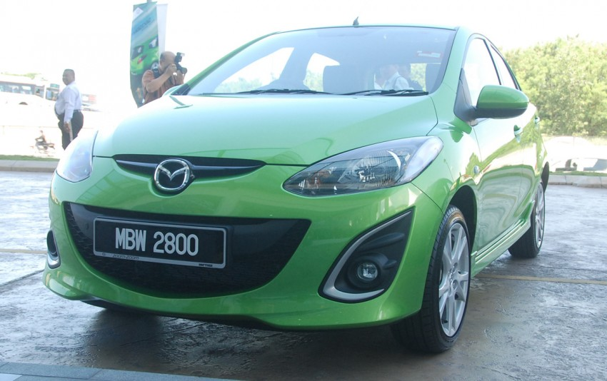 Mazda 2 launched: sedan and hatchback, RM80K to RM85K! Image #183232