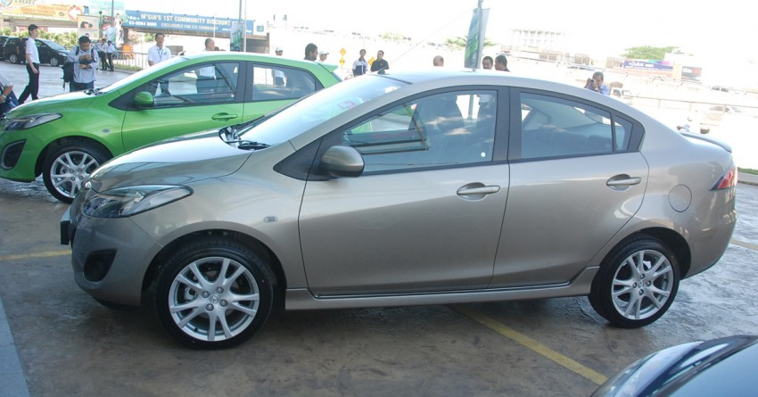 Mazda 2 launched: sedan and hatchback, RM80K to RM85K! Image #183233