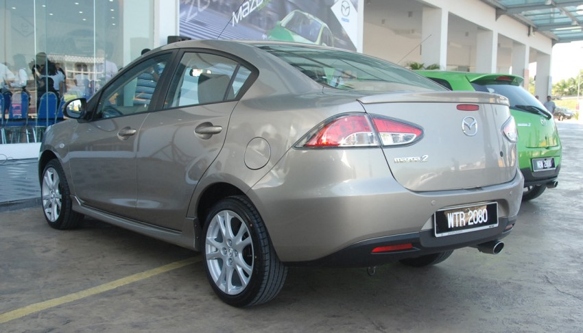 Mazda 2 launched: sedan and hatchback, RM80K to RM85K! Image #183234